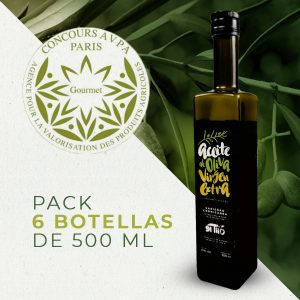PACK 6 BOTELLAS AOVE EL TILO